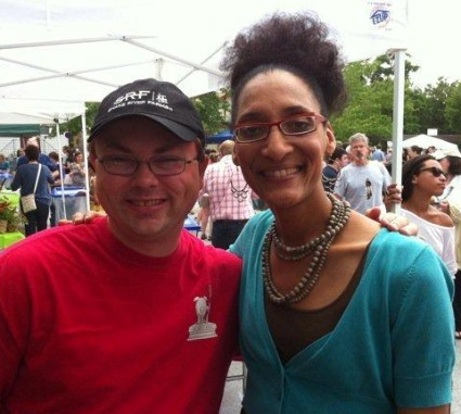 Heath Hall and Chef Carla Hall